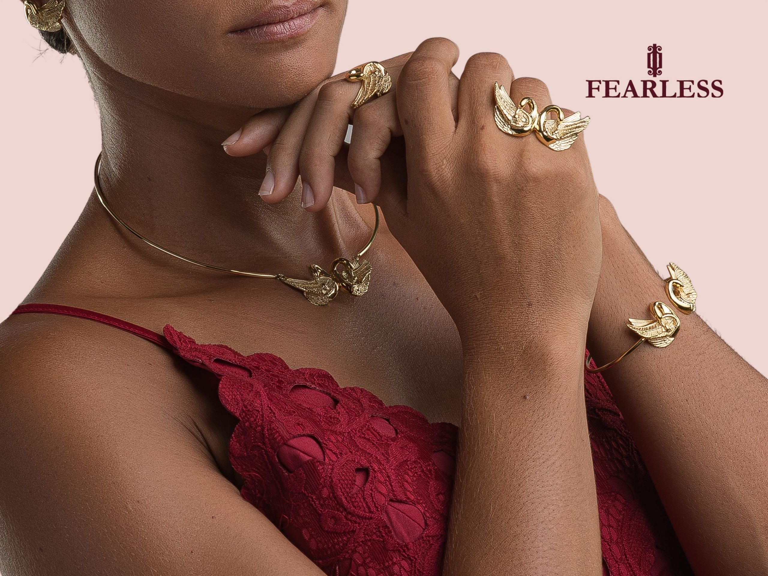 fearless jewellery swan collection gold 1 scaled