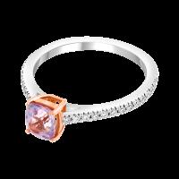 Bague Spinelle Et Diamants