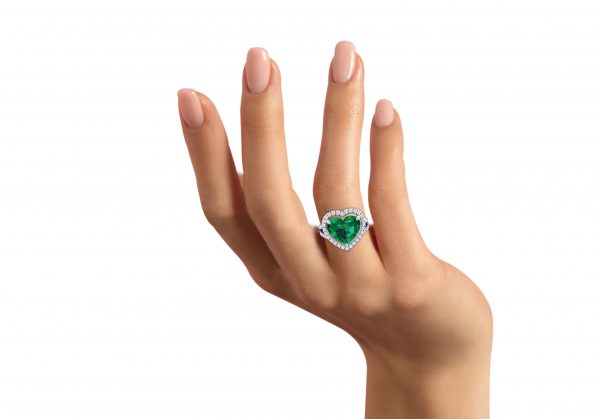 emerald ring fearless jewellery