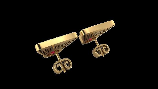 heritage earrings gold