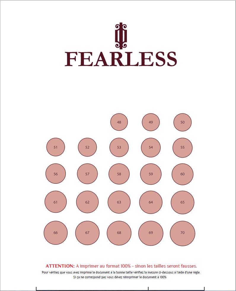 Fearless Jewellery Baguier En Ligne