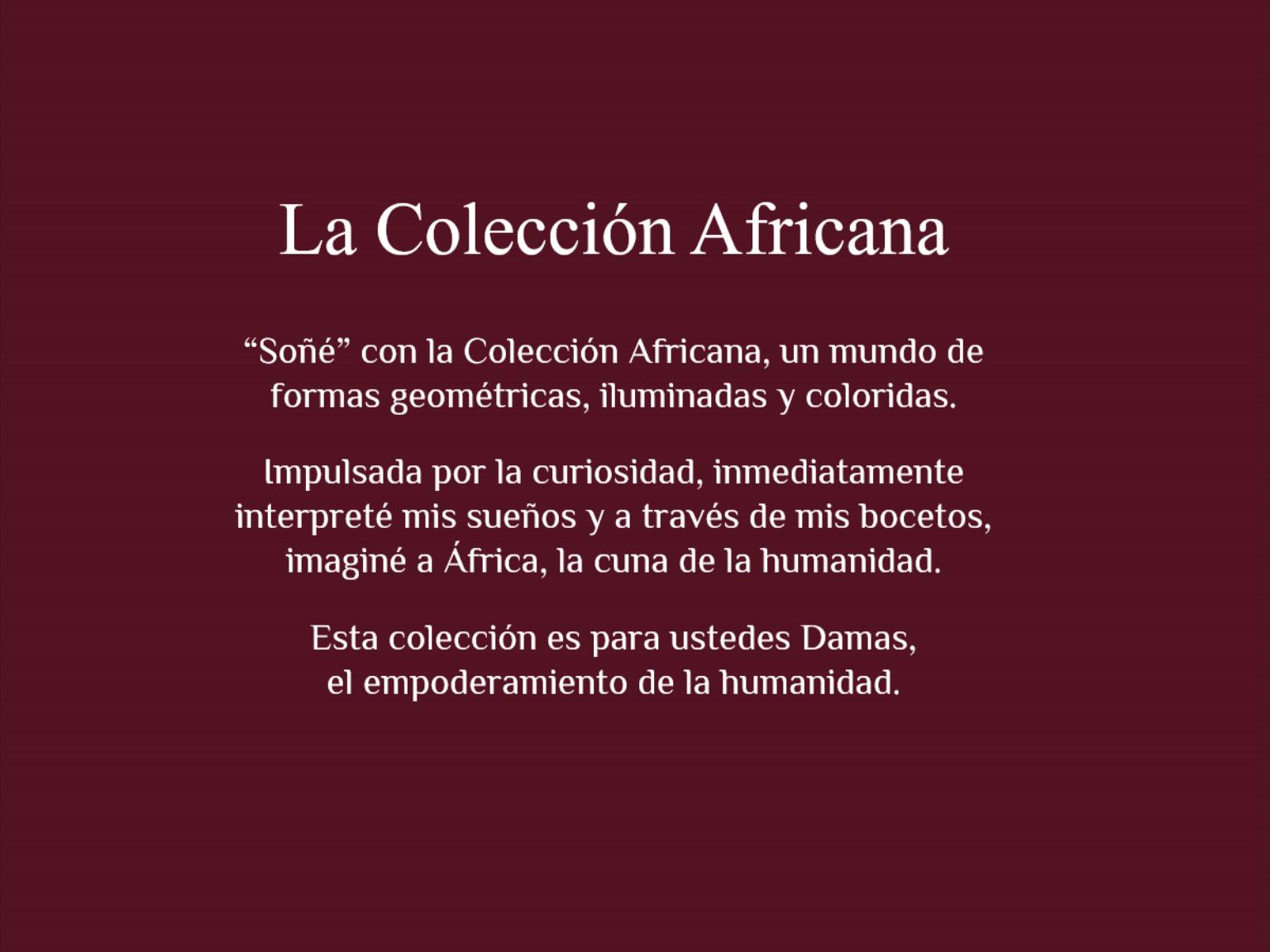 La coleccion africana 3