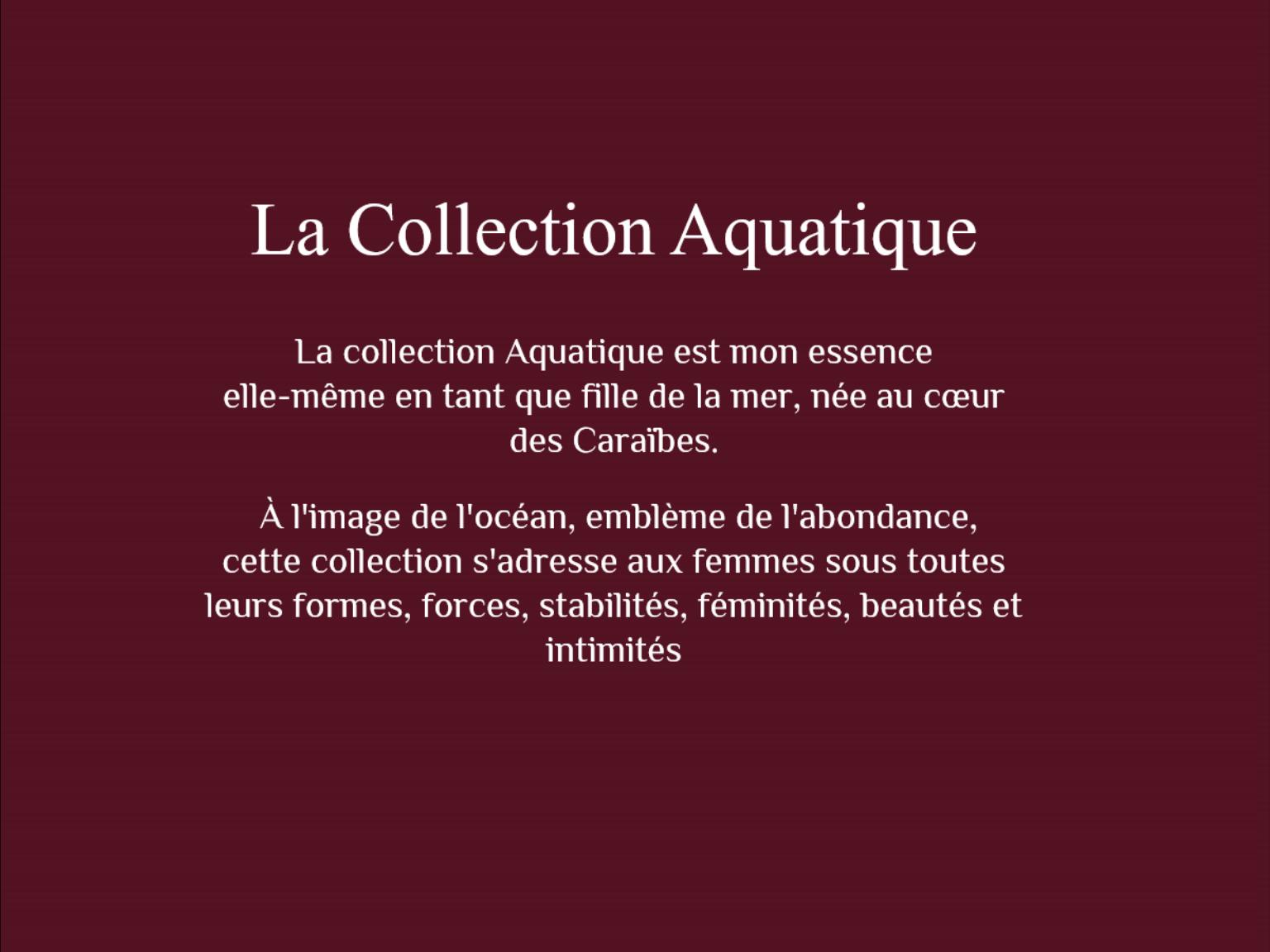 La collection aquatique 11