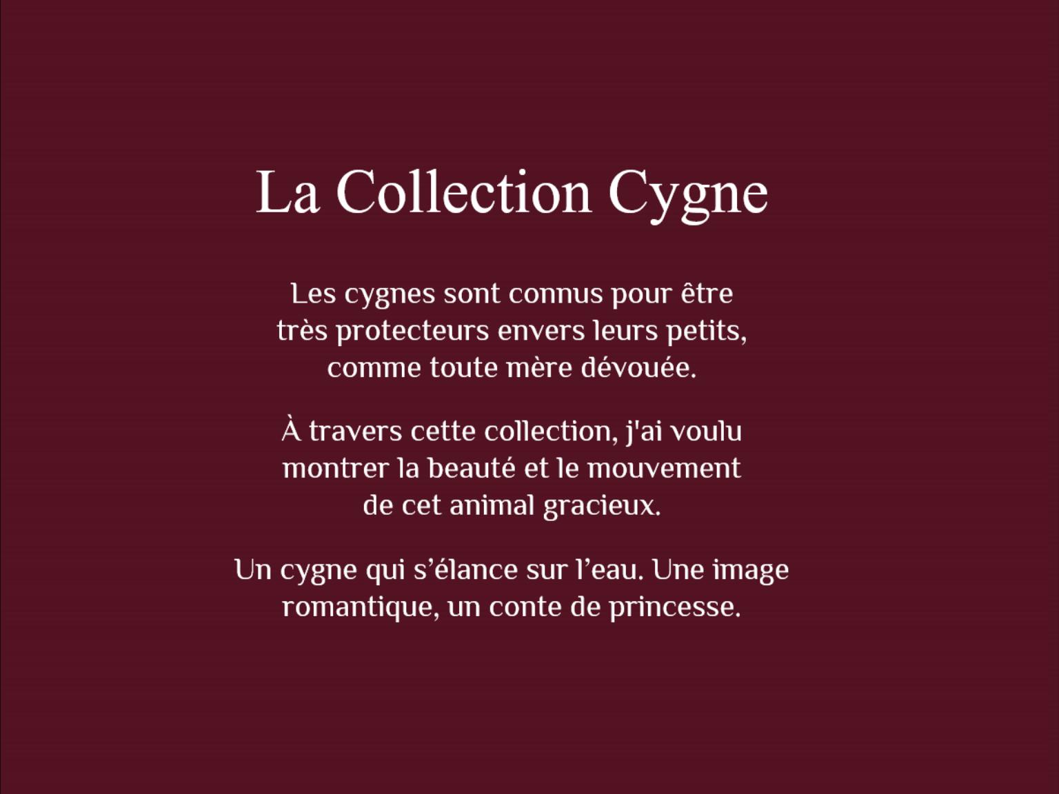 La collection cygne 15