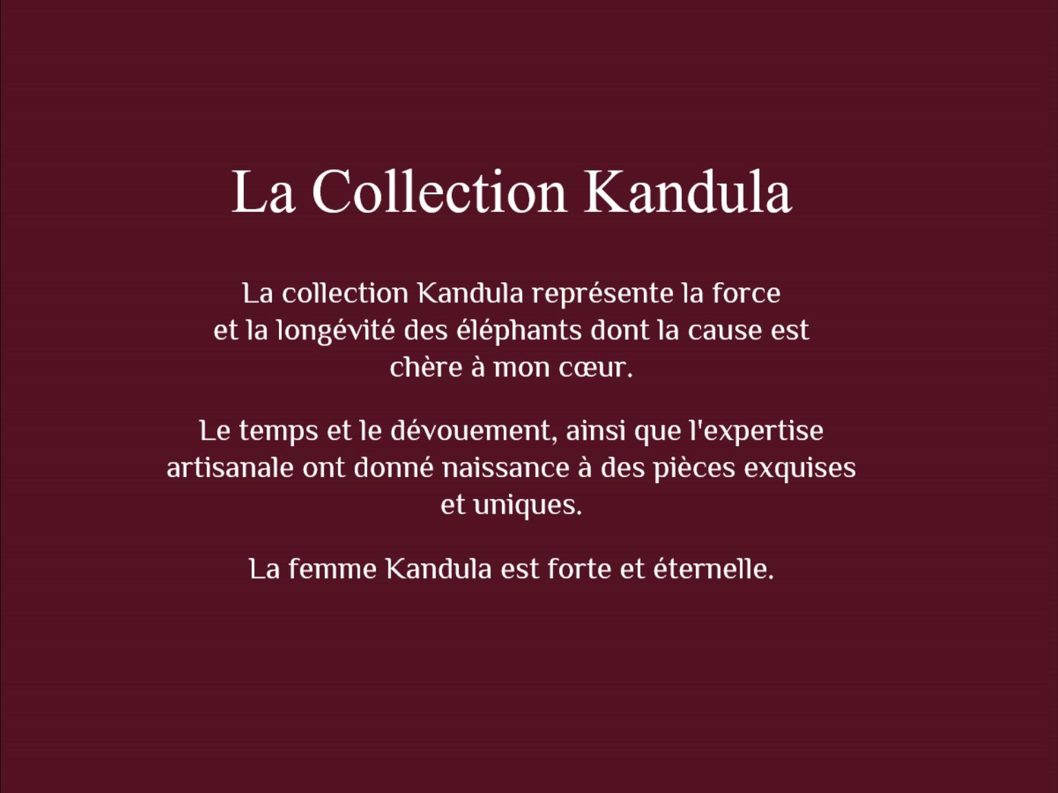 La collection kandula 10