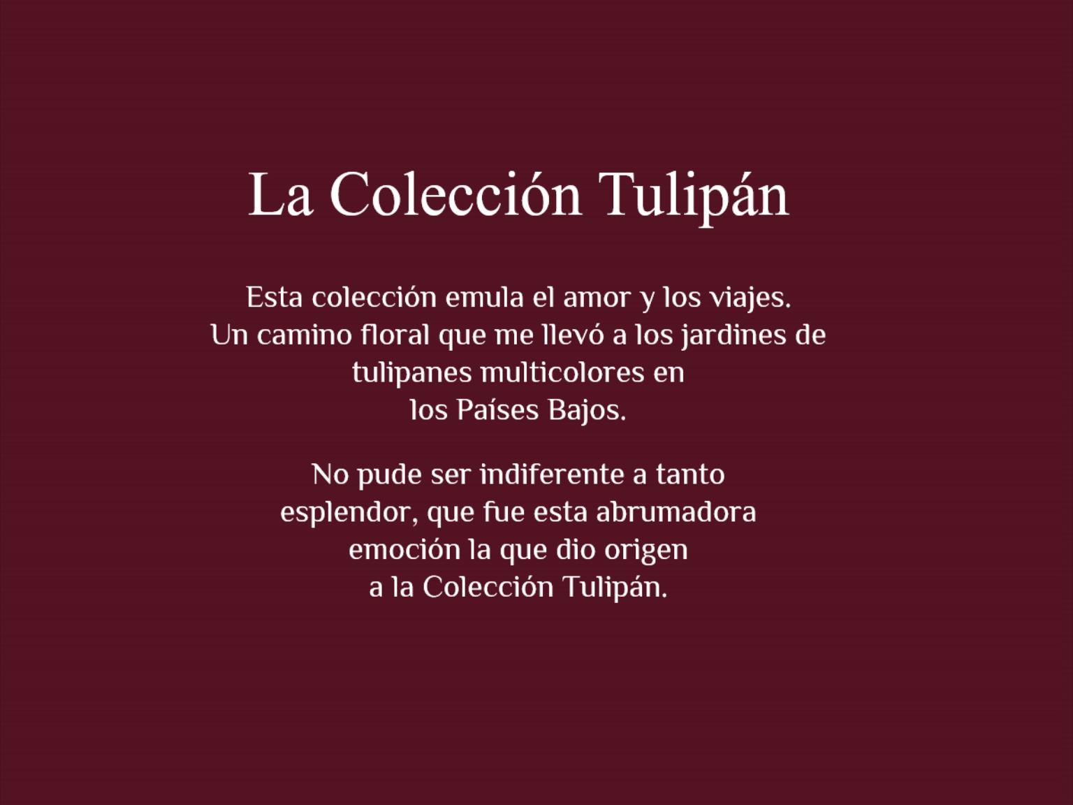la coleccion tulipan 4